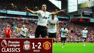 Download Video Premier League Classics | Liverpool 1-2 Manchester United | Rafael & Van Persie seal the win in 2012 MP3 3GP MP4