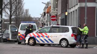 Beelden aanhouding na schietincident Leeuwarden