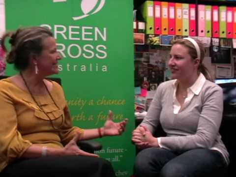 Miranda Mason talks to Mara about Green Cross Australia's Green Lane Diary