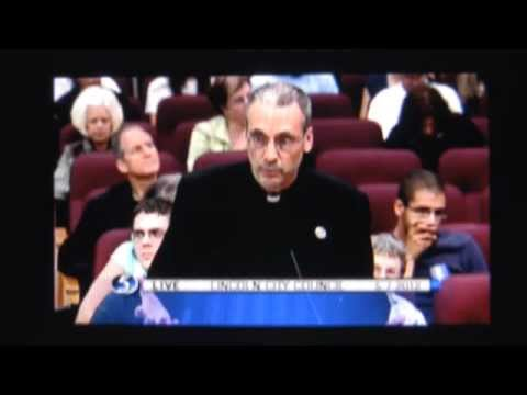 Lincoln Nebraska proposed LGBT protection measure: Father Kubat plays hardball Video
