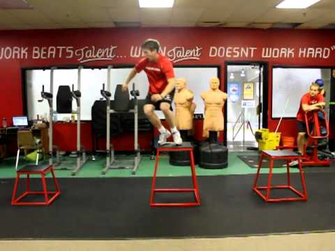 All Fitness Plyo training with Phila Revolution  EJ Hockey team