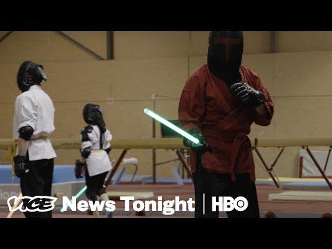 Light Saber Fencing & Sri Lanka Terror Crackdown: VICE News Tonight Full Episode (HBO)