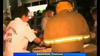 Bomb Blast In Bangkok City, Thailand (Nightline 31/7/10)