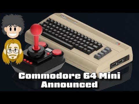 Commodore 64 Mini Announced - #CUPodcast
