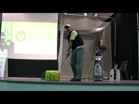 Golf Training Aids, By Rick Timm, PGA – Denver Golf Expo 201323