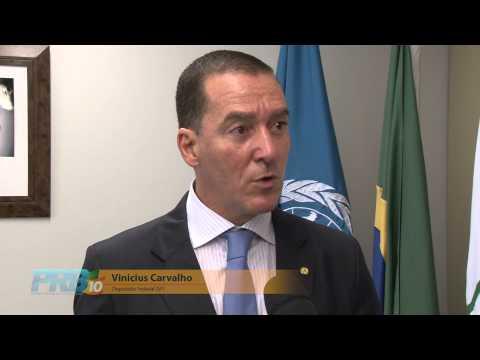 Vinicius Carvalho atua no Grupo Parlamentar de Amizade Brasil-Angola da Câmara Federal