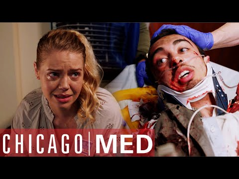 Hiding Your Girlfriend From Your Family | Chicago Med