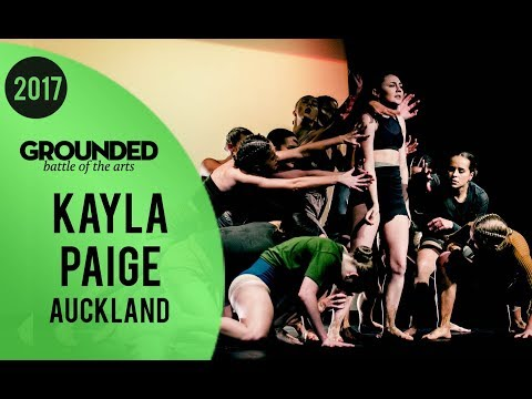Kayla Paige (Mantis) FINALS ★ Runner Up | GROUNDED 2017 'Animal Kingdom' Auckland (видео)