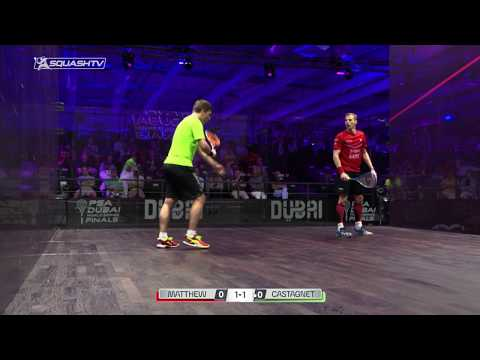 Squash tips: The return of serve with Paul Carter - Visual cues