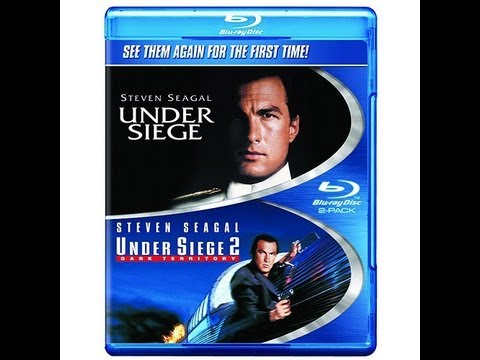 Under Siege & Under Siege 2 Blu-Ray Unboxing