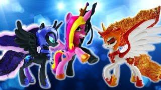Compilation MLP Princess Villains Split Pony Daybreaker Nightmare Luna Queen Chrysalis