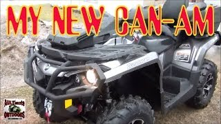9. BRAND NEW 2014 CAN-AM OUTLANDER 800 MAX XT