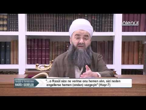 Cübbeli Ahmet Hocaefendi TERGIBU TERHIB Hadis-î Şerif Dersleri 33 Bölüm 21 Kasım 2016 Lâlegül TV