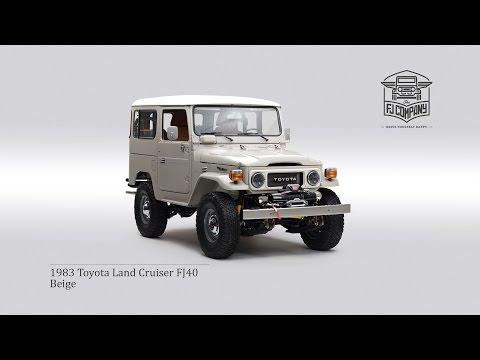 Video 1983 Toyota Land Cruiser FJ40 Beige download in MP3, 3GP, MP4, WEBM, AVI, FLV January 2017
