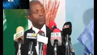 Yemi Osibajo Acceptance Speech As Running Mate To General Buhari