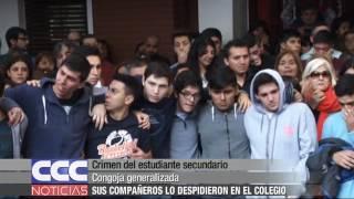 Crimen del estudiante secundario