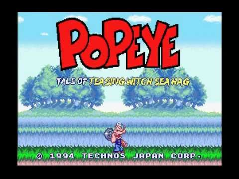 Popeye Super Nintendo