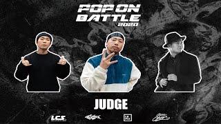 Hoan, Gucchon, Tai – POP ON BATTLE 2020 Judge Demo