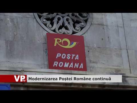 Modernizarea Poștei Române continuă