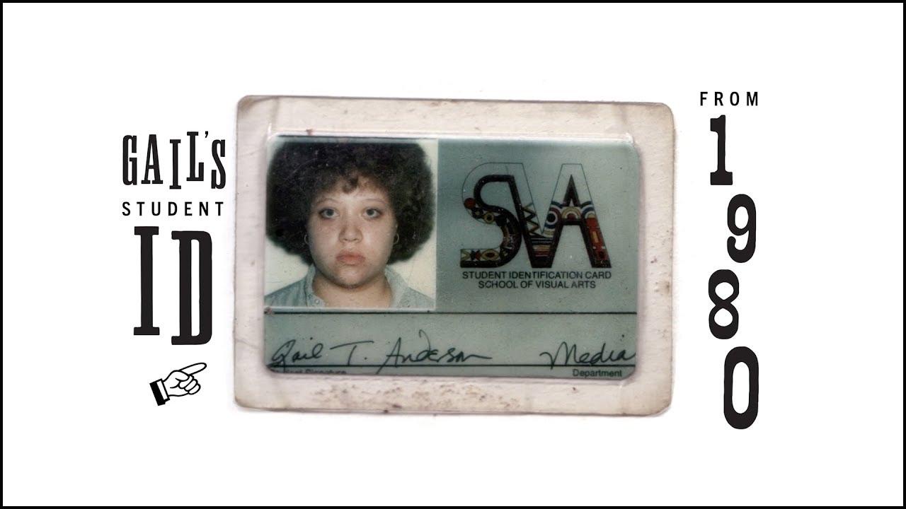 Gail Anderson's 1980 SVA student ID