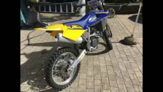 9. 2005 Husqvarna TC 250 trail riding