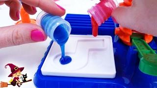 Las Pegatinas Hechas de Slime 🔴 Juguetes de Manualidades para Niños