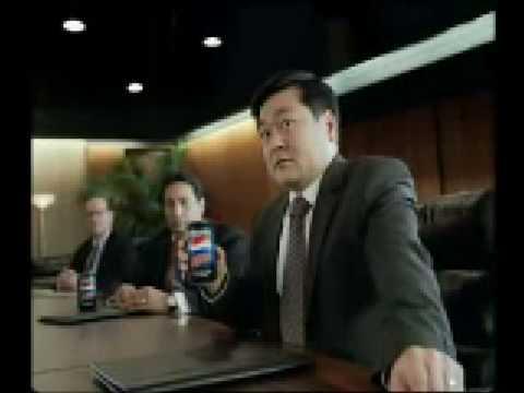 Pepsi Max commercial
