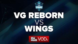 Wings vs VG Reborn, game 2