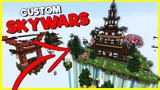 CUSTOM SKYWARS GAME!? | Heroes Hangout | #16