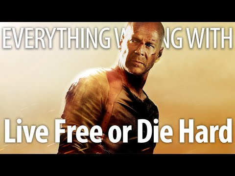 Everything Wrong With Live Free or Die Hard In PG-13 Minutes