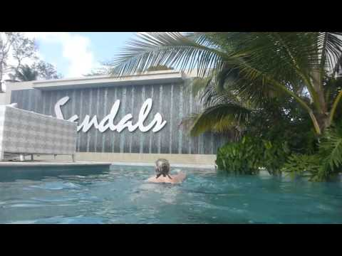 Sandals, Barbados Swim Up - March 2016