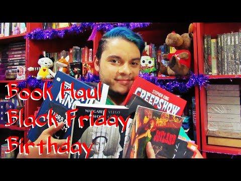 Book Haul | Black Friday | Aniversário 2017