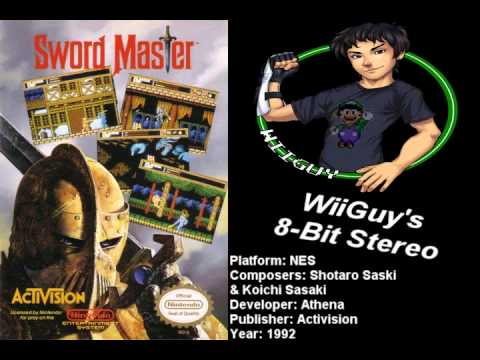 sword master nes game genie codes