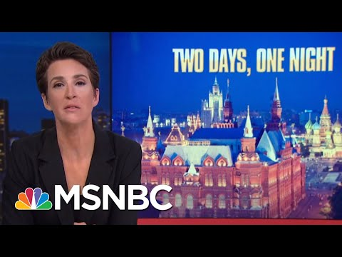 Report Supports Dossier, Contradicts President Trump On Night In Moscow | Rachel Maddow | MSNBC