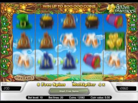 Slots win - Free Spins on Golden Shamrock Slot