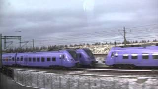 Malmo Sweden  City new picture : Train Journey from Copenhagen (Denmark) to Malmö (Sweden) - 7th January, 2016