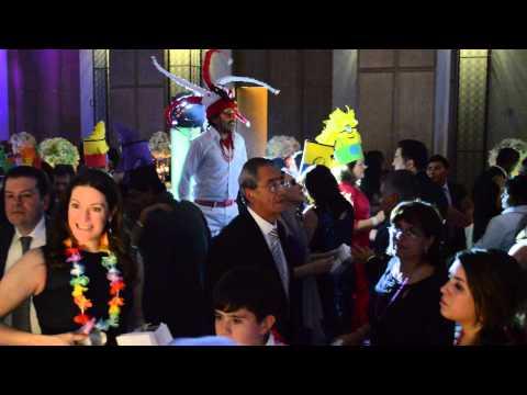 ZANQUEROS AB MUSICAL DJs Y SONORA DINAMITA ST REGIS MEXICO DF