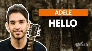 Hello - Adele (aula de violão simplificada) Video