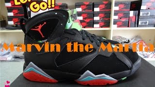 Air Jordan 7 Retro Marvin The Martia