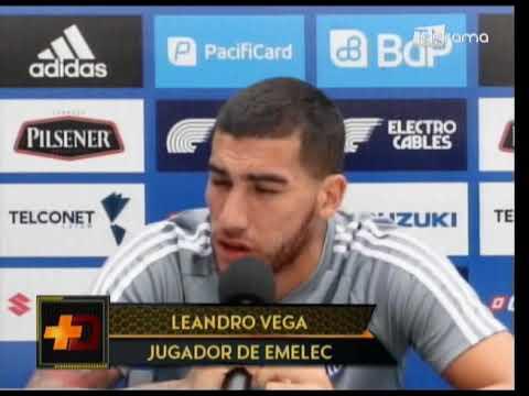 Emelec ya podría contar con E. Pernía para juego con Deportivo Cuenca