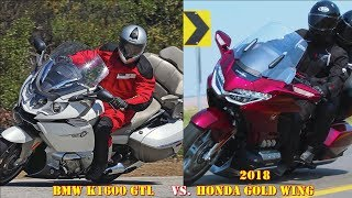 10. 2018 Honda Gold Wing vs BMW K1600 GT/GTL