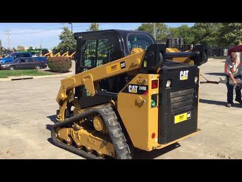 CATERPILLAR MINICARGADORAS 249DSTD1CA equipment video VtTfSKEeZMY