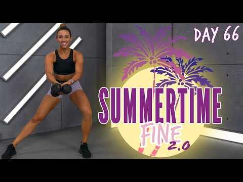 50 Minute Full Body Athlete HIIT Workout | Summertime Fine 2.0 - Day 66