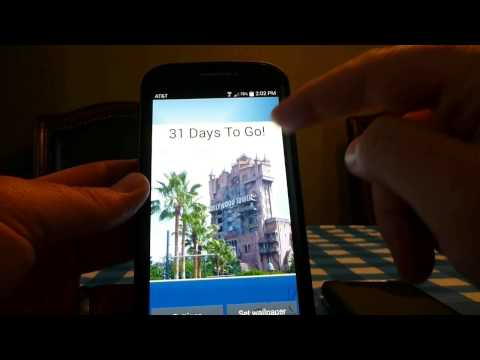 Video of Countdown for Disney World Dlx