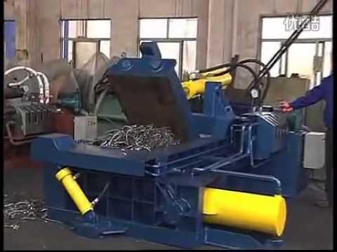Scrap metal recycling, bailers, recycling equipment