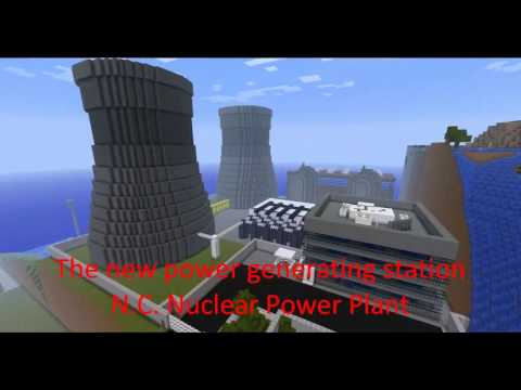 newcraft nuclear reactor minecraft nuclear power station part 2