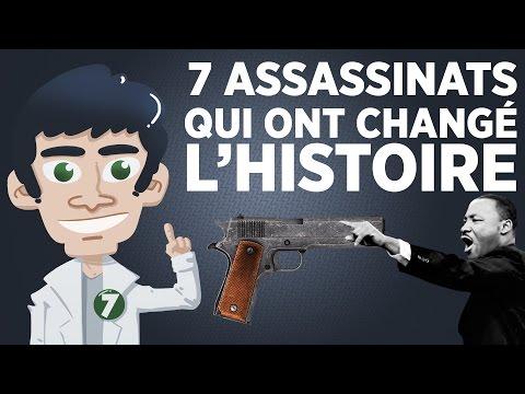 7 assassinats qui ont changé l'histoire