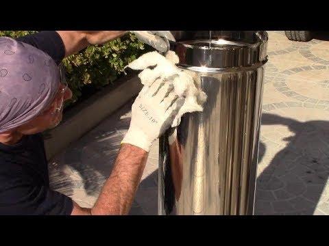 LUCIDARE l'acciaio,l'ottone,l'argento e metalli vari-How to POLISH steel, brass and various metals