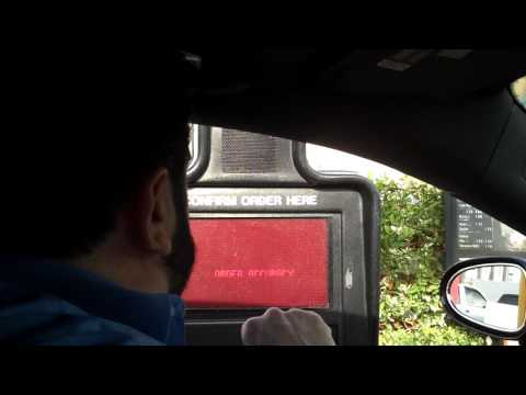 mays - At a McDonald's drive thru, Billy Mays orders food for The MJ Morning Show.