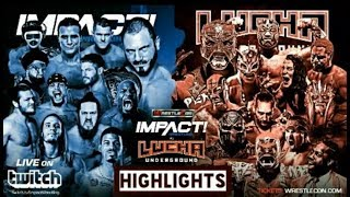 Nonton TNA Wrestlecon 2018 TNA vs Lucha Underground  Highlights | ملخص عرض تي ان ايه ريسيل كون 2018 Film Subtitle Indonesia Streaming Movie Download